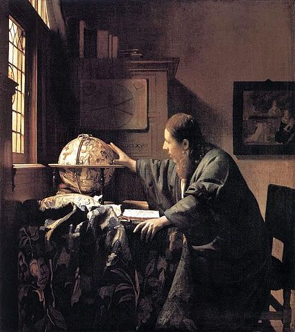 427px Jan Vermeer The Astronomer